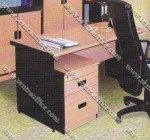 1/2 Biro Desk Beech