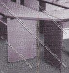Corner Meeting Desk Grey