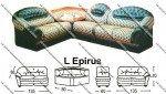 Sofa L Sentra Type L Epirus