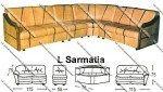 Sofa L Sentra Type L Sarmatia