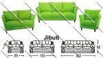 Sofa Minimalis Sentra Type Jibuti