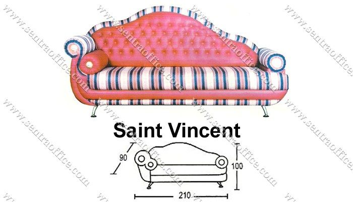 sofa santai saint vincent