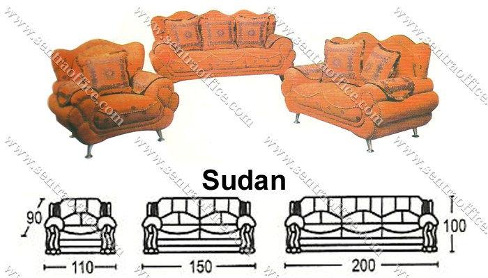 sofa tamu sudan