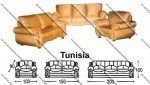 Sofa Tamu Sentra Type Tunisia