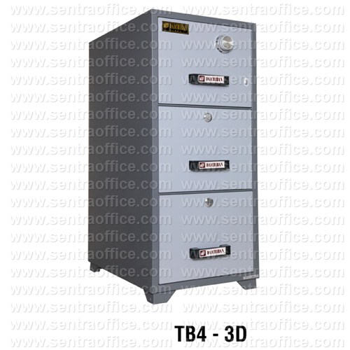 Fire Resistant Filling Cabinet Daichiban TB4 - 3D
