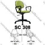 Kursi Staff & Sekretaris Chairman SC 308