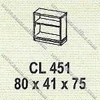 Lemari Arsip Bagian Bawah Modera M - Class CL 451