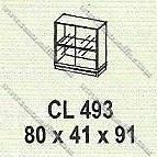 Lemari Arsip Bagian Bawah Modera M - Class CL 493