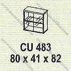 Lemari Arsip Bagian Atas Modera M - Class CU 483
