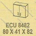 Lemari Arsip Bagian Atas Modera E - Class ECU 8482