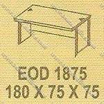 Meja Kantor 1 Biro Modera E - Class EOD 1875