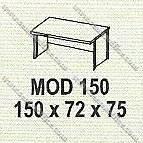 Meja Kantor 1 Biro Modera M - Class MOD 150
