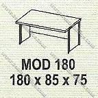 Meja Kantor 1 Biro Modera M - Class MOD 180