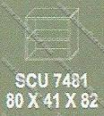 Lemari Arsip Bagian Atas Modera S - Class SCU 7481