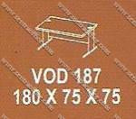 Meja Kantor 1 Biro Modera V - Class VOD 187