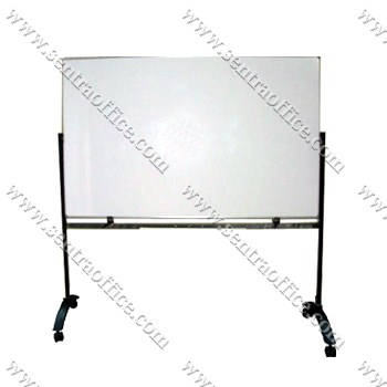 papan tulis whiteboard stand sentra 120 x 180