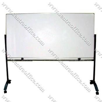 papan tulis whiteboard stand sentra 120 x 240