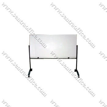 papan tulis whiteboard stand sentra 60 x 120