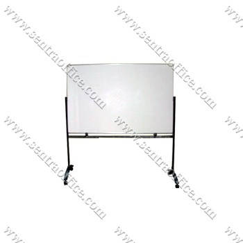 papan tulis whiteboard stand sentra 80 x 120