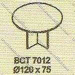 Meja Meeting Bundar Modera B - Class BCT 7012