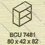 Lemari Arsip Bagian Atas Modera B - Class BCU 7481