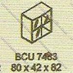 Lemari Arsip Bagian Atas Modera B - Class BCU 7483