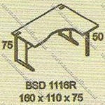 Meja Kantor Executive Modera B - Class BSD 1116R