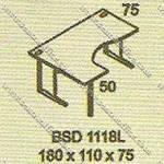 Meja Kantor Executive Modera B - Class BSD 1118L