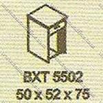 Meja Kantor Extension Modera B - Class BXT 5502
