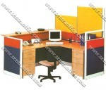 Partisi Kantor Uno Exclusive Secretary Configuration