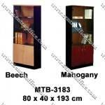 Rak Buku Pintu Kaca Type MTB-3183