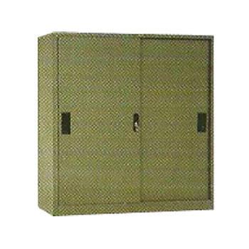 lemari arsip 2 pintu sliding ½ tinggi elite el-431