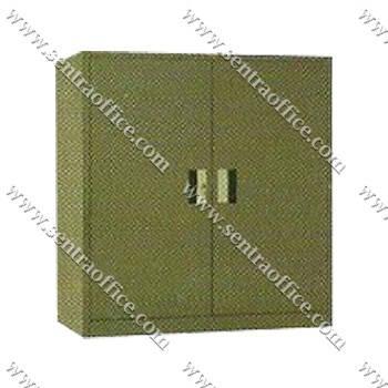 lemari arsip 2 pintu swing ½ tinggi elite el-439