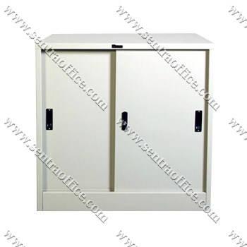 lemari arsip pintu sliding lion l.31