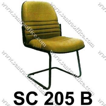 kursi pengunjung sentra type sc 205 b