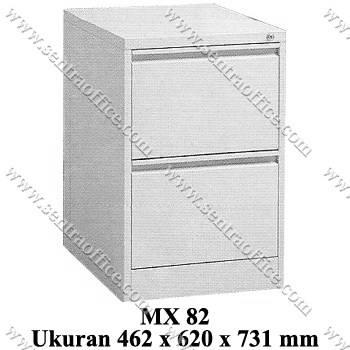 filling cabinet 2 laci modera type mx 82