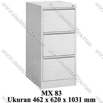 filling cabinet 3 laci modera type mx 83