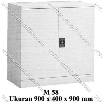 lemari arsip pendek pintu tarik modera type m 58