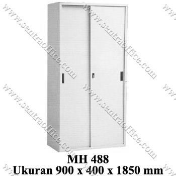 lemari arsip tinggi pintu sliding modera type mh 488