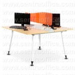 Meja Kantor Modera Office Plus Series Type OPS 1213