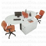 Meja Kantor Modera Office Plus Series Type OPS 2415