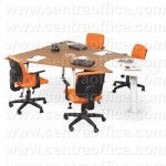 Meja Kantor Modera Office Plus Series Type OPS 2418