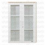 Lemari Arsip Atas Pintu Kaca 3 Ruang Uno Modern Series Type UST 7462