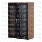 Lemari Arsip Atas Pintu Kaca 3 Ruang Uno Lavender Series Type UST 8472