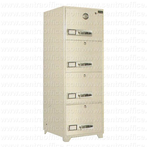 filling cabinet fire proof uchida type b4-4d
