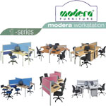 Partisi Kantor (Office Partition) Modera 1-Series
