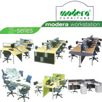 Partisi Kantor (Office Partition) Modera 3-Series