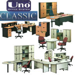 Meja Kantor Uno Classic Series