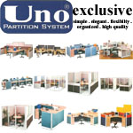 Partisi Kantor (Office Partition) Uno Exclusive