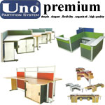 Partisi Kantor (Office Partition) Uno Premium